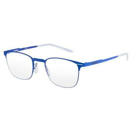 Carrera 6660 Eyeglass Frames CA6660-0VBS-4822 - Matte Blue Frame ...