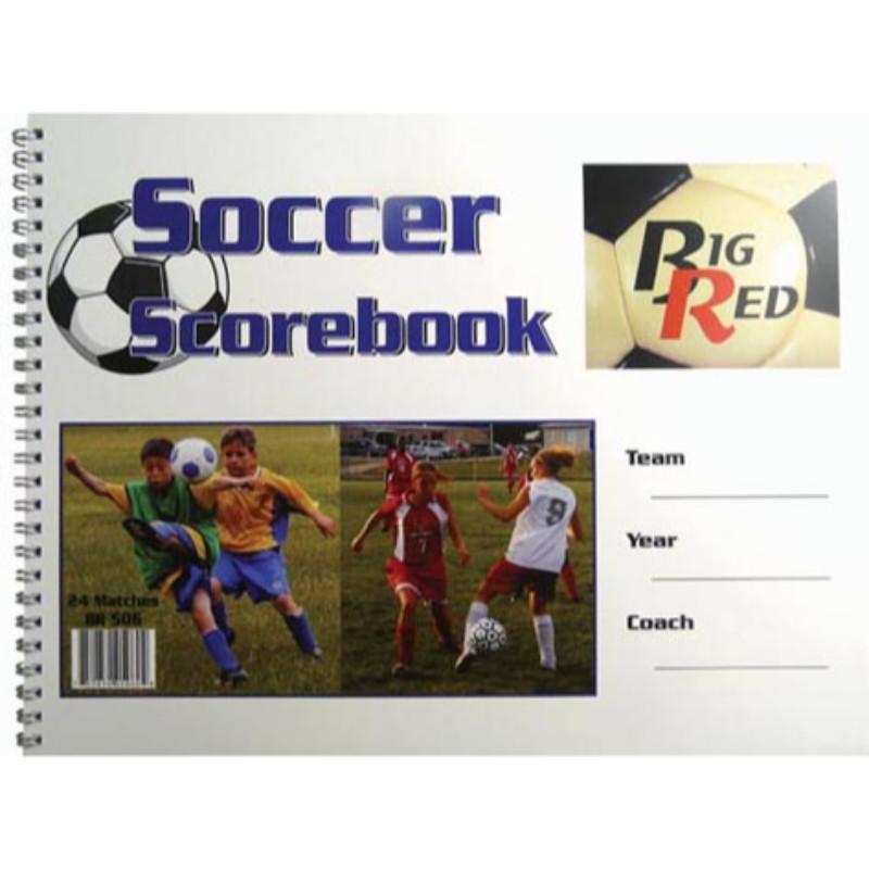 """9.25"""" x 12"""" Soccer Scorebook by"""