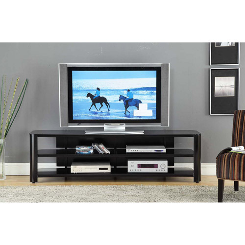 Innovex Oxford Black TV Stand for TVs up to 75 Walmartcom