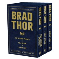 Brad Thor Collectors' Edition #4 : The Athena Project, Full Black, and Black List