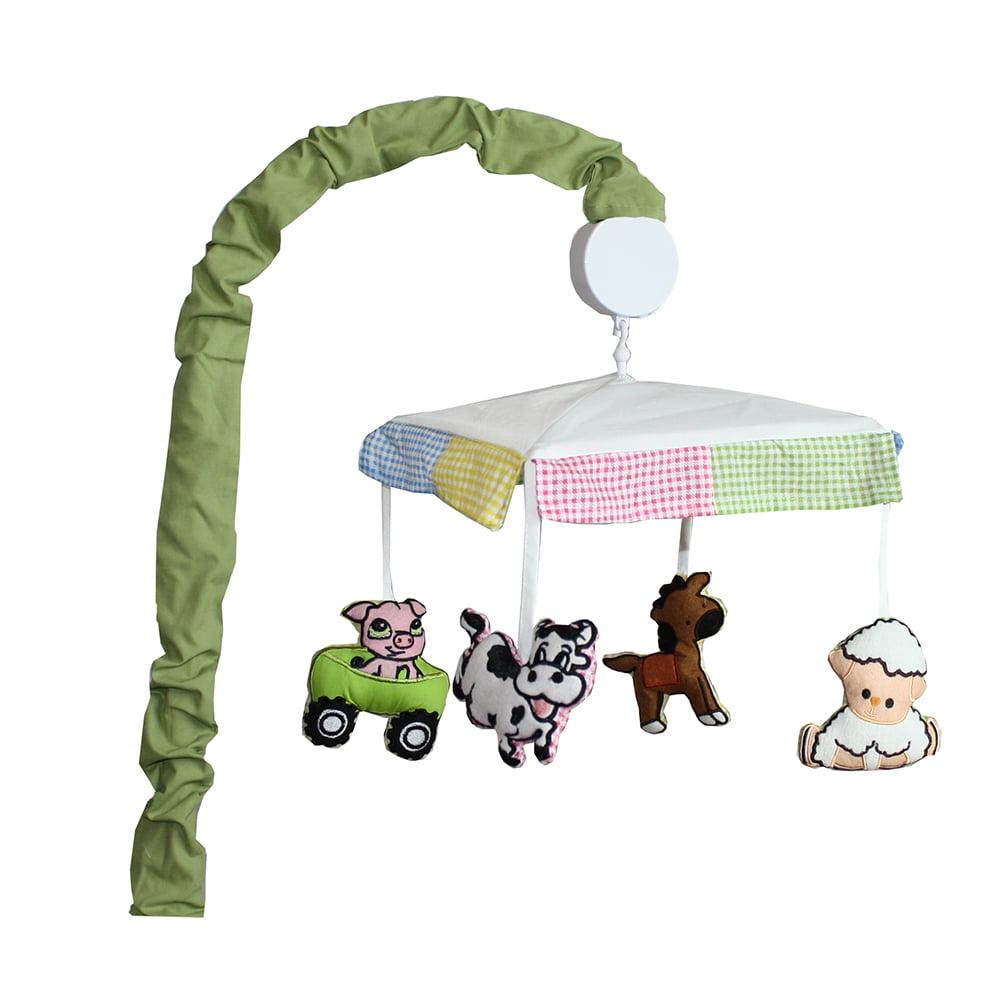 BabyFad Barnyard 10 Piece Crib Bedding Set - image 1 de 3