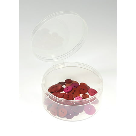 3 Plastic Containers With Attached Lids 6 Pack