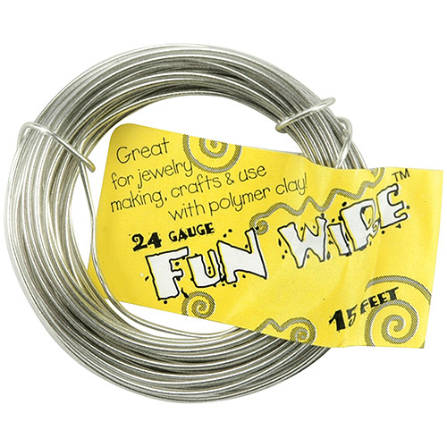 Plastic-Coated Fun Wire 24-Gauge 15'/Pkg