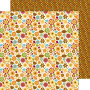 """Fall Friends Double-Sided Cardstock 12""""X12""""-Fall Floral"""