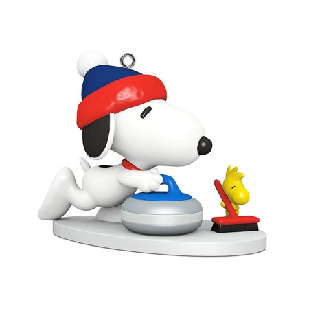 Hallmark Ornament 2018 Winter Fun With Snoopy #21 MINIATURE - Snoopy Christmas Ornament