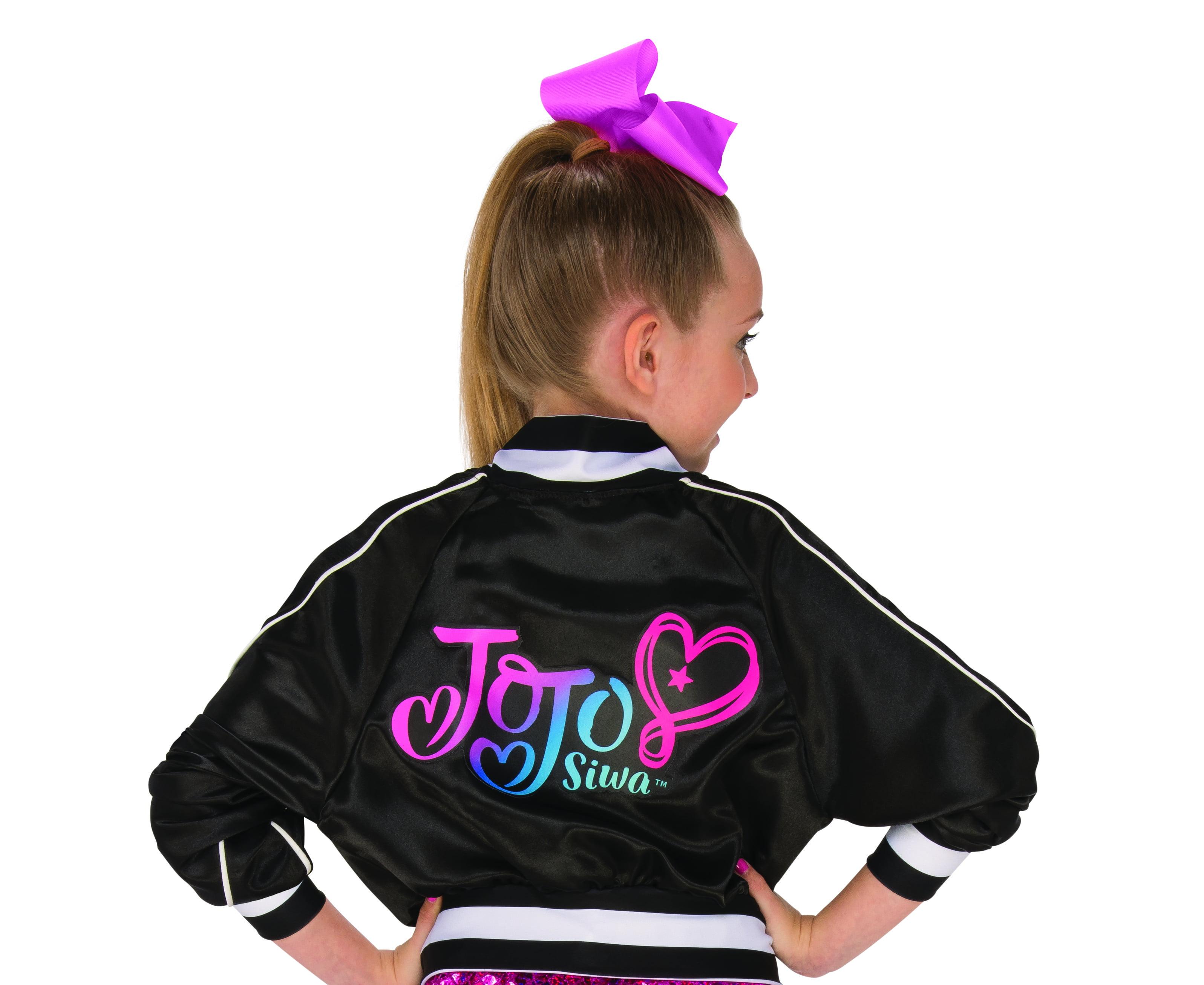 751d5a6e98e7b Rubies Costume Company Jojo Siwa Bomber Jacket and Bow Set Costume -  Walmart.com
