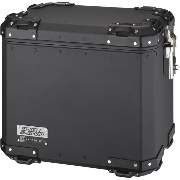 Moose Racing Expedition Aluminum Side Cases SM Black