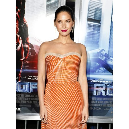 Olivia Munn At Arrivals For Robocop Premiere Tcl Chinese 6 Theatres Los Angeles Ca February 10 2014 Photo By Emiley SchweichEverett Collection Celebrity (Olivia Munn Halloween)