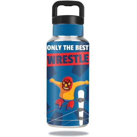 Skin For Ozark Trail Water Bottle 36 oz – Best Wrestle | MightySkins Protective, Durable, and Unique Vinyl Decal wrap cover | Easy To Apply, Remove, and Change Styles | Made in the
