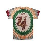 Bob Dylan Men's  Deal Tour Tie Dye T-shirt Multi