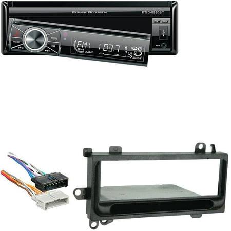 power acoustik in dash dvd am fm receiver 7 inch flip out. Black Bedroom Furniture Sets. Home Design Ideas