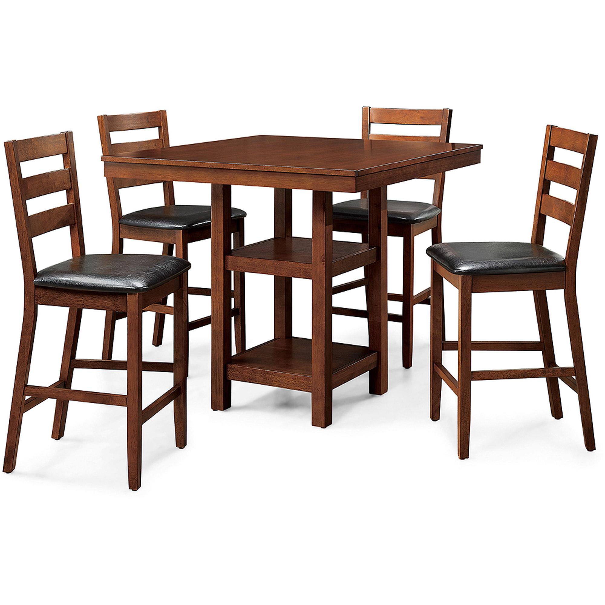 Better Homes & Gardens Dalton Park 5-Piece Counter Height Dining Set ...