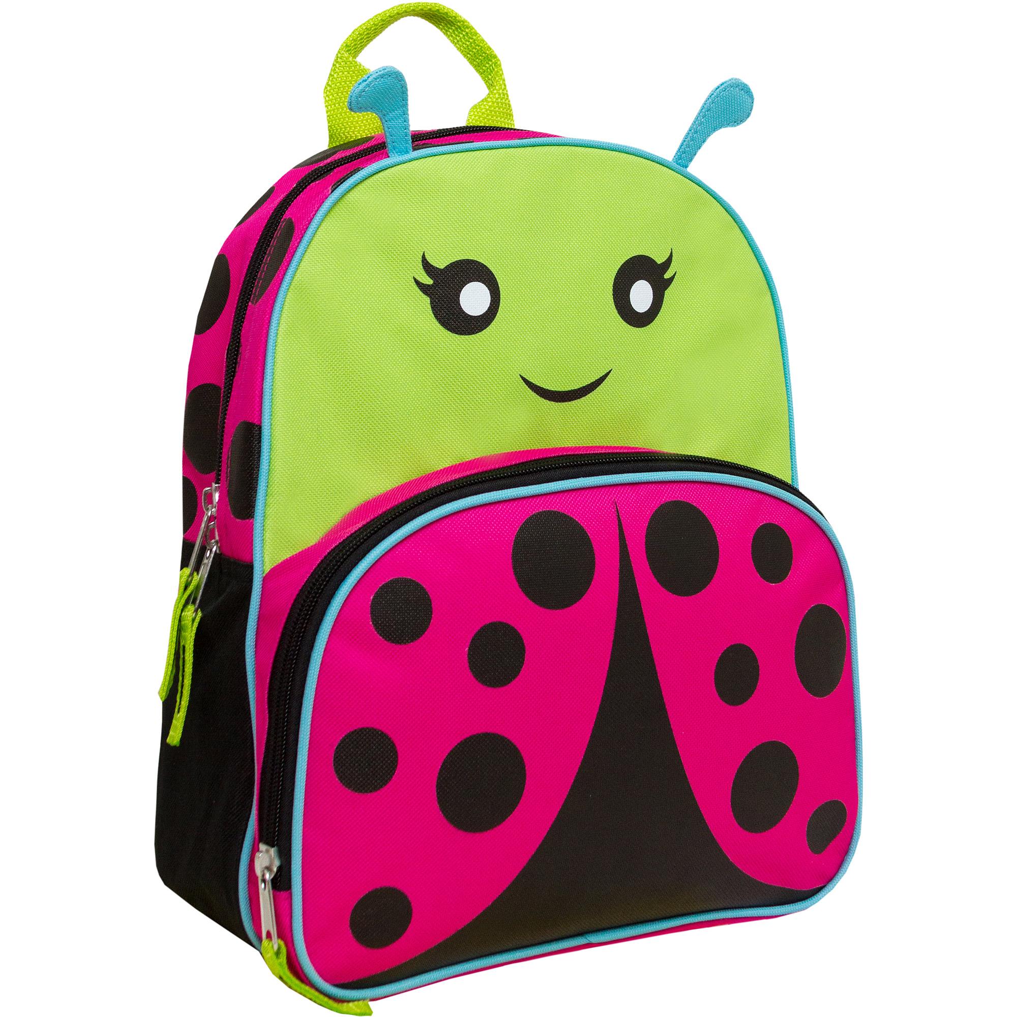 "Animal Friends 12"" Ladybug Backpack"
