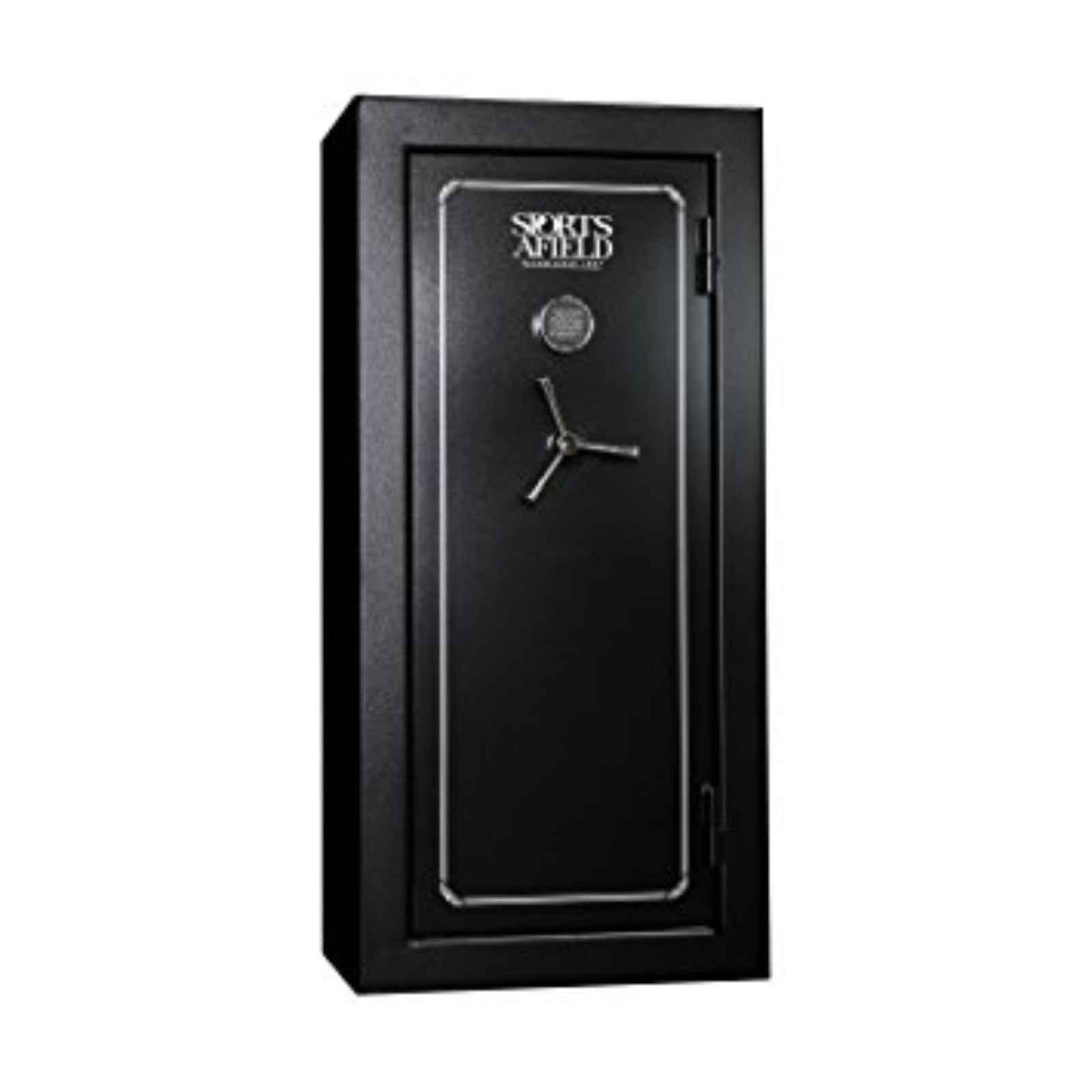 Sports Afield Gun Safe FREE DELIVERY 28+4Cap Black, SA5928 by Sports Afield