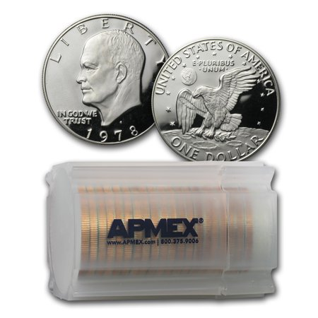 1978-S Eisenhower Dollar 20-Coin Roll Gem Proof