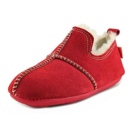 Tamarac Jupiter Women  Round Toe Leather Red Slipper