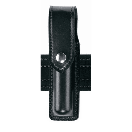 Safariland Duty Gear MK3 Hidden Snap OC Pepper Spray Holder (Plain Black) - 38-4-2HS - Safariland
