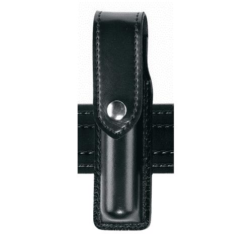 Safariland Duty Gear MK3 Hidden Snap OC Pepper Spray Holder (Plain Black) - 38-4-2HS - Safariland
