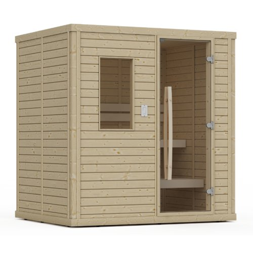 Premium Saunas Barrett 1 Person FAR Infrared Sauna