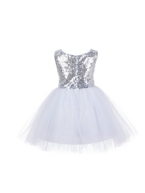 8af580d5a3272 Product Image Ekidsbridal Wedding Pageant Glitter Sequin Tulle Flower Girl  Dress Toddler Junior Bridesmaid Recital Easter Holiday Communion
