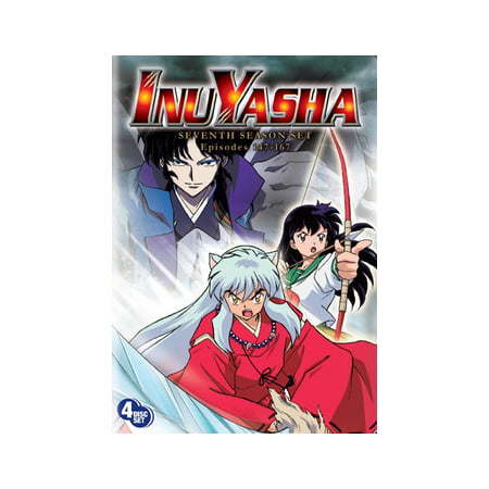 INUYASHA SEASON 7 BOX SET (DVD/4 DISC/RE-PKGD)
