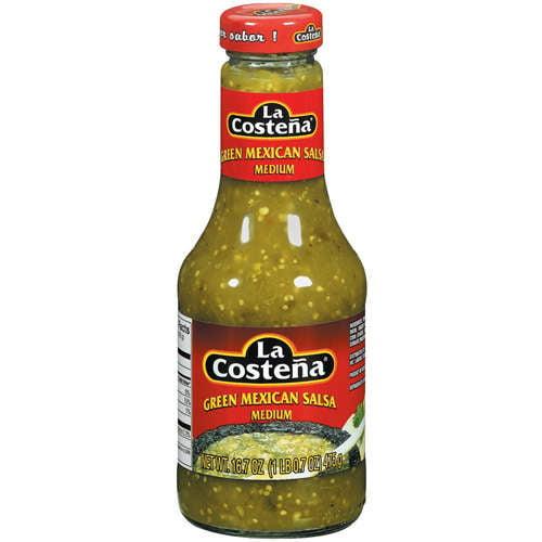 La Costena Green Medium Mexican Salsa, 16.7 oz