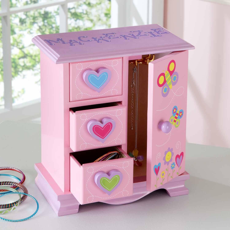 Personalized Secret Garden Jewelry Box