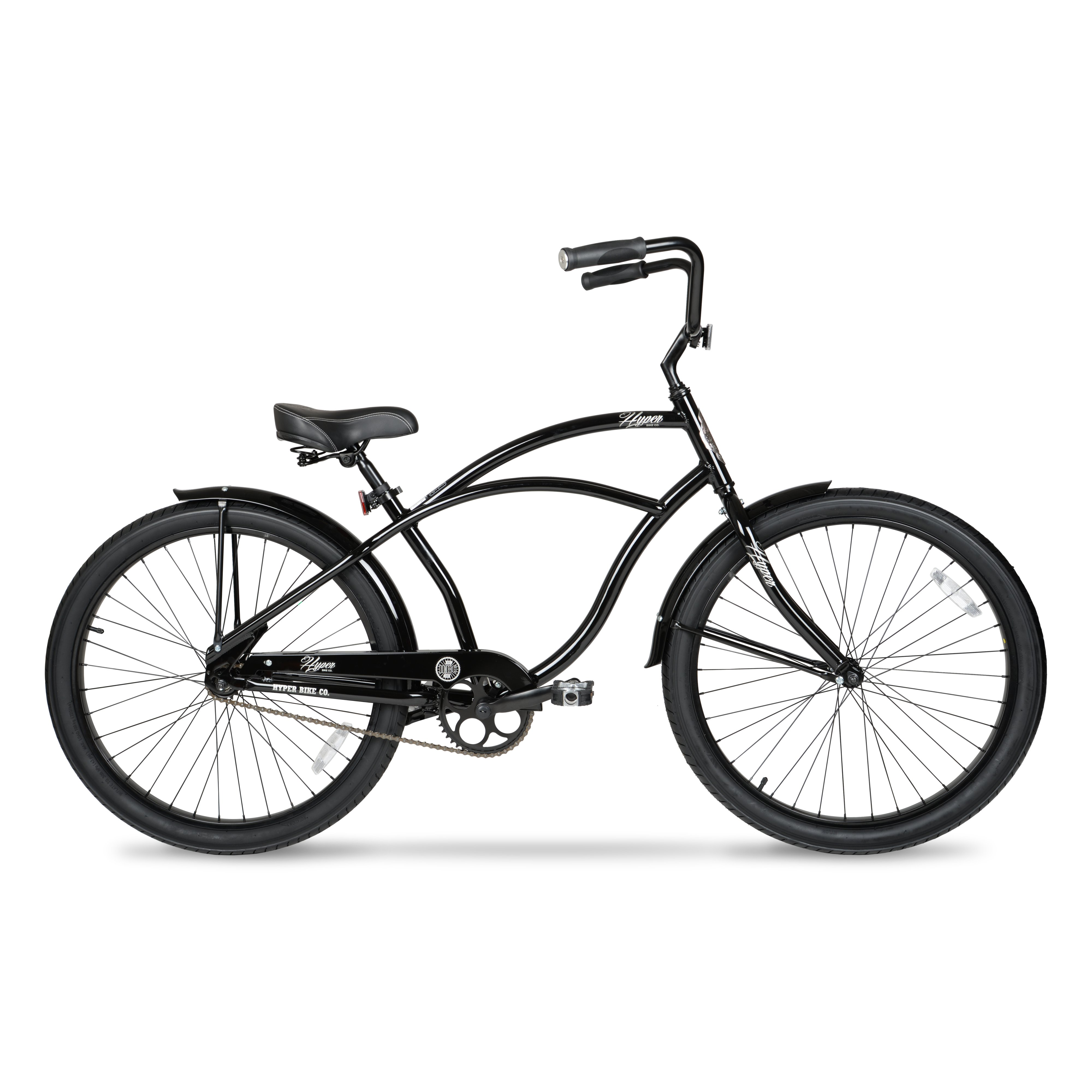 "26"" HYPER Men's Beach Cruiser Black"