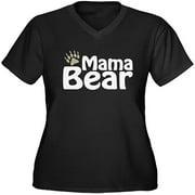 Women's Plus-Size Mama Bear Graphic T-shirt