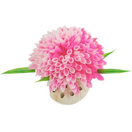 Artificial pink plastic flower plants decor for aquarium walmart artificial pink plastic flower plants decor for aquarium mightylinksfo