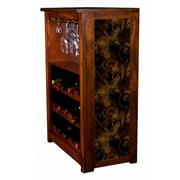 """Iron Leaf"" Wine Cabinet"