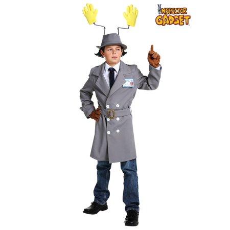 Inspector Gadget Costume For Kids (Inspector Gadget Boys Costume)