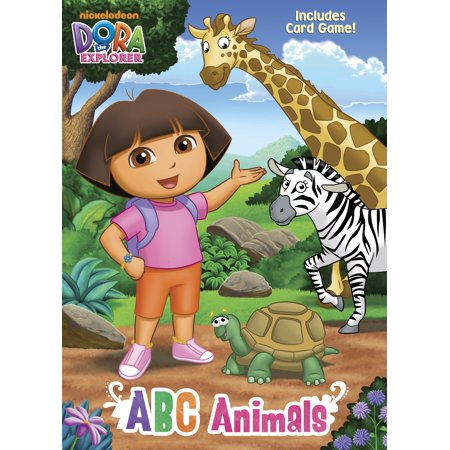 ABC Animals (Dora the - Dora Halloween Printable Coloring Pages