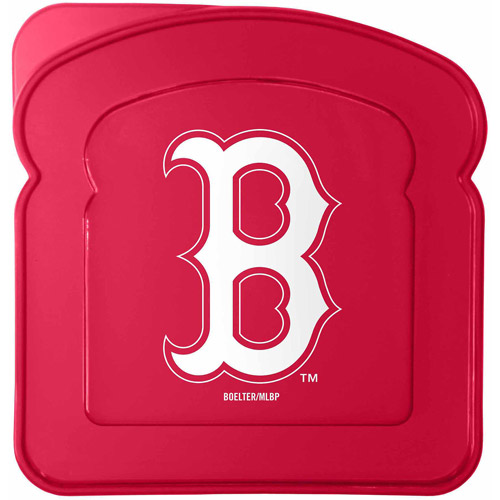 MLB Boston Red Sox Sandwich Container Set, 4pk