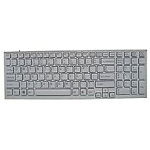 Sony A-1766-426-A Keyboard for VAIO VPC-EB Series Laptop - White (Refurbished)