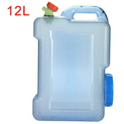 Kasachoy 12L Water Canister Drinking Water Bucket Water tap, With Drinking Water Bucket, Tap Food Safe Water Container For Outdoor Camping