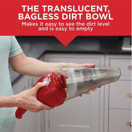 BLACK+DECKER HNVC115J06 Dustbuster Quick Clean Hand Vacuum