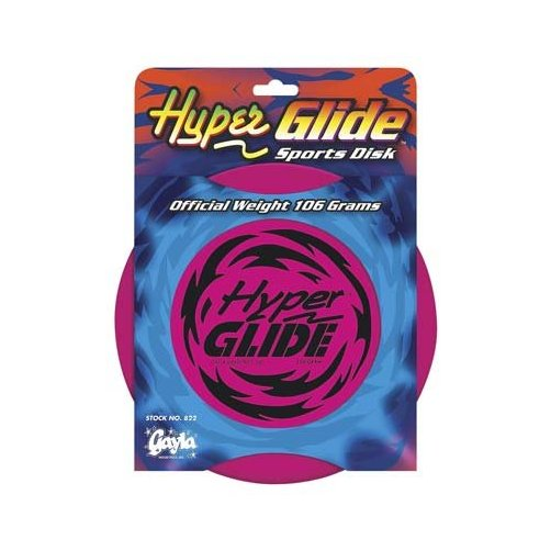 "822 Hyper Glide Disk 9"" 106 Gram-Astd Colors Multi-Colored"
