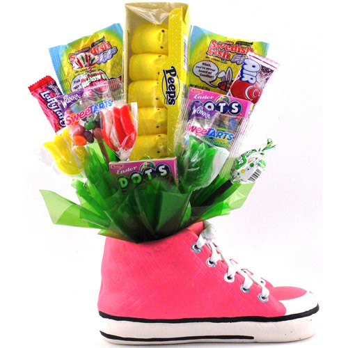 Sweets in Bloom Easter Candy in Sneaker, Pink