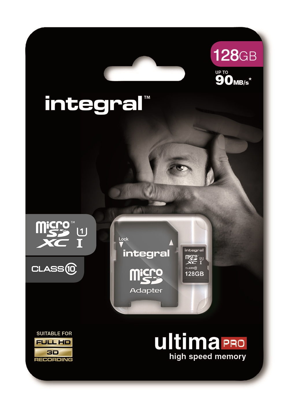 Integral Ultima Pro 128GB SDXC 80 MB//s Class 10 UHS-1 Card