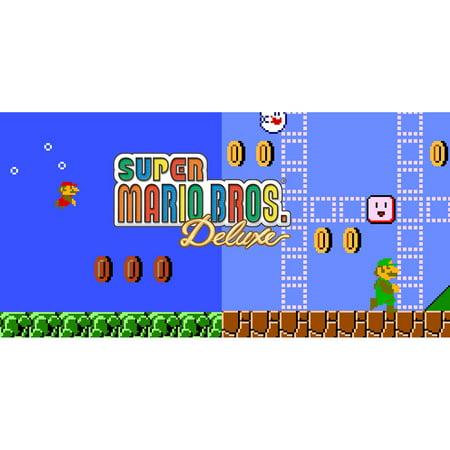 Super Mario Bros  Deluxe, Nintendo, Nintendo 3DS, [Digital Download],  0004549668203