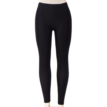SAYFUT Women's Solid Color Leggings Seamless Stretchy Tights Pants Black Size S-3XL - Skirts Leggings
