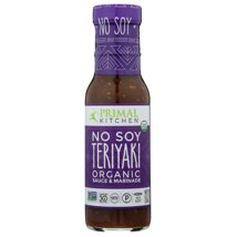 Salad Dressing & Toppings: Primal Kitchen No Soy Teriyaki Sauce