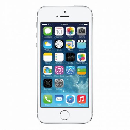 refurbished iphone 5s t mobile silver 16gb me324ll a 2013. Black Bedroom Furniture Sets. Home Design Ideas