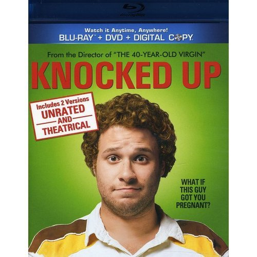 Knocked Up (Blu-ray   DVD) (With INSTAWATCH)