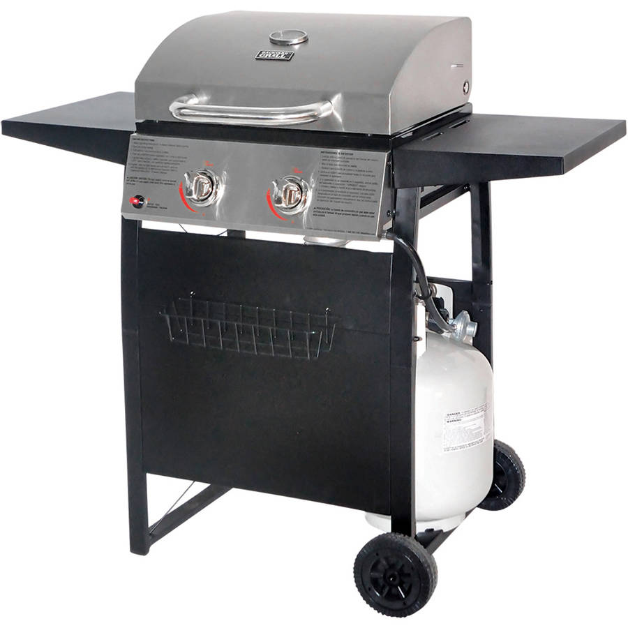 Walmart 3 Burner Stainless Steel LP Gas Grill by
