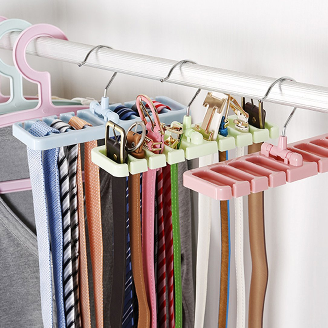 Delicieux Storage Rack Tie Belt Organizer Space Saver Tops Bra Bag Hanger Holder Rack