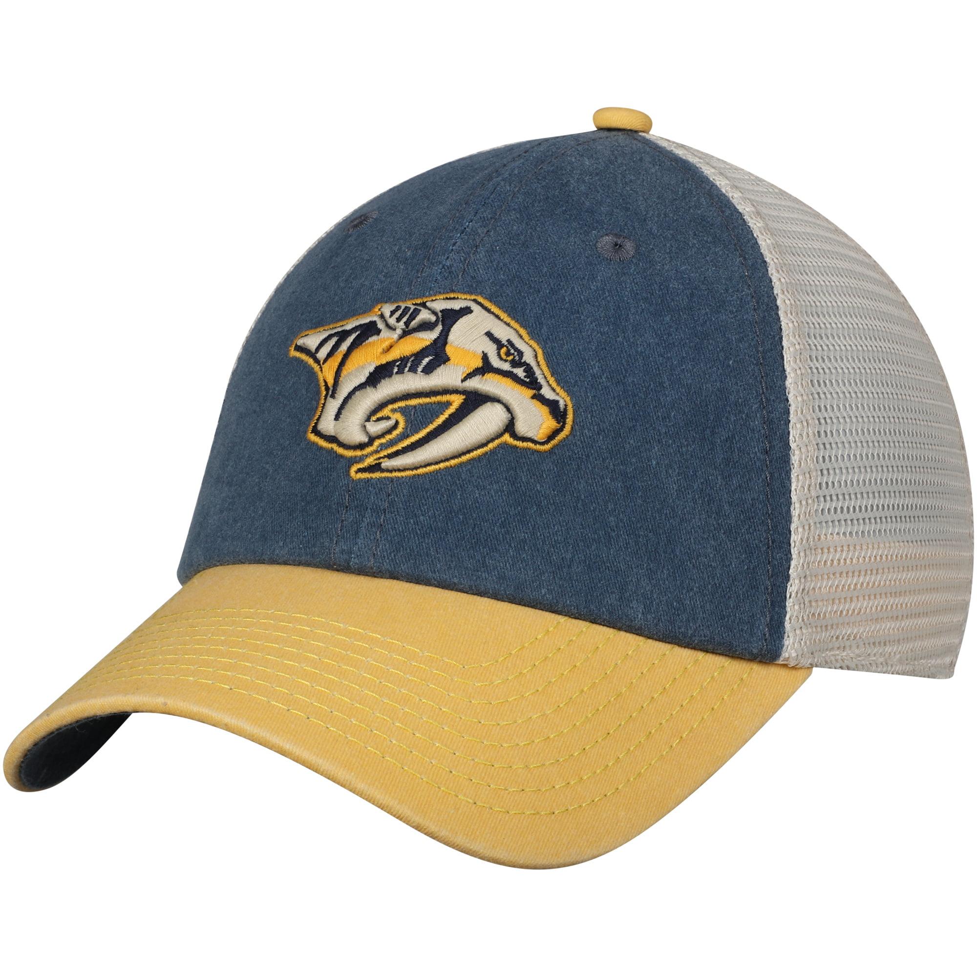 Nashville Predators American Needle Hanover Unstructured Adjustable Hat - Navy/Gold - OSFA