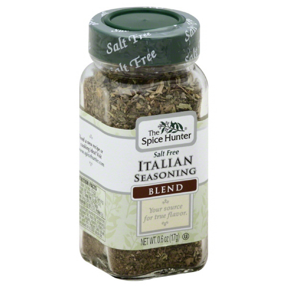 Spice Hunter Salt Free Blend Italian Seasoning, 0.6 Oz (Pack of 6)