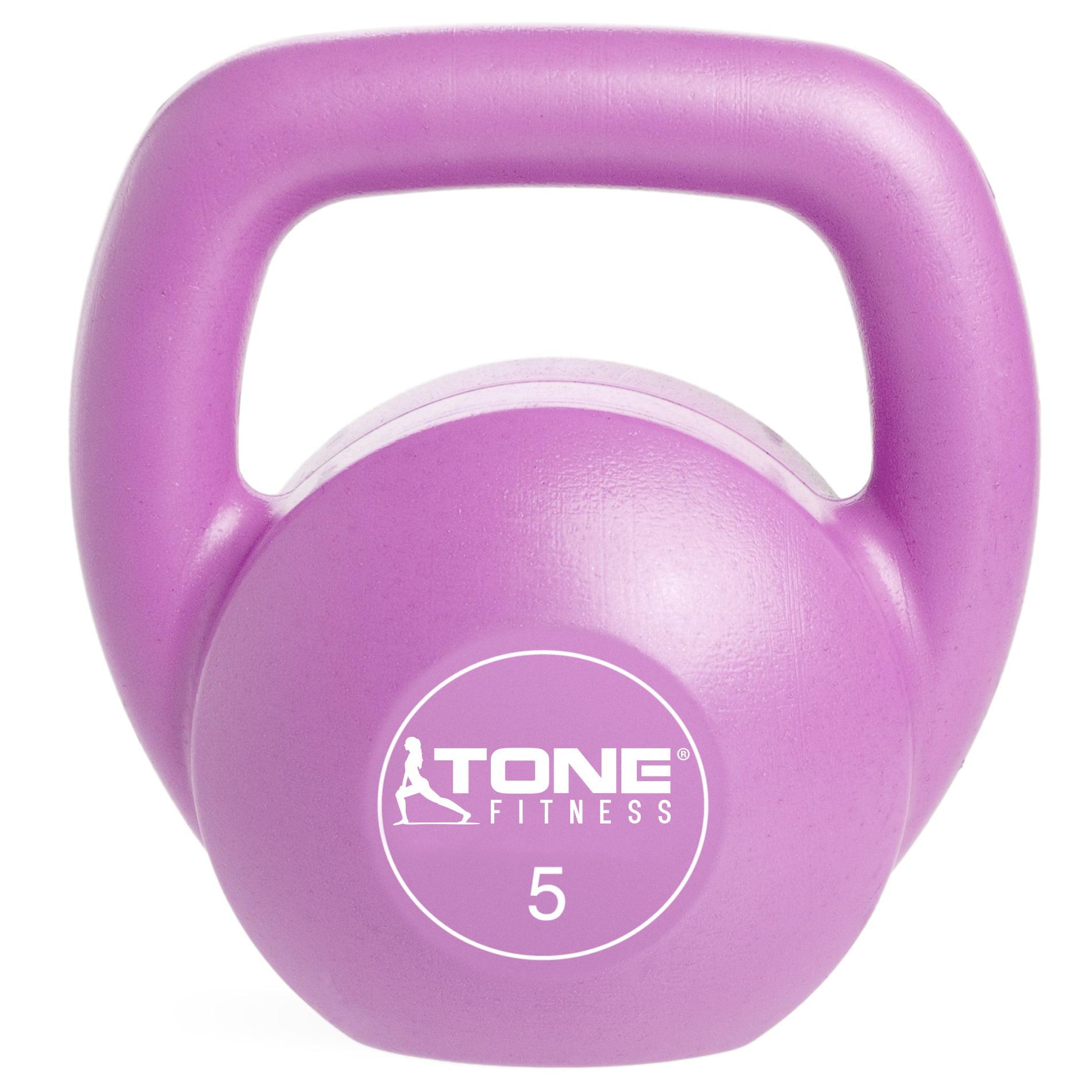 Tone Fitness Kettlebells 12lb Plastic NEW